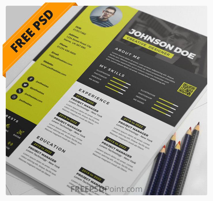 Awesome Resume CV Design PSD Bundle