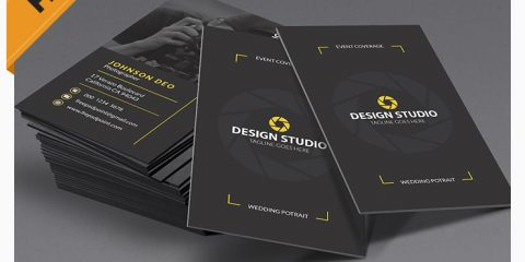 Download Modern Photography Business Cards Template